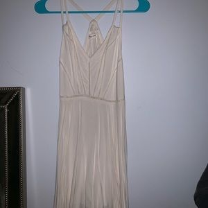 Urban Outfitters creme domino dress.